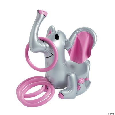 Inflatable Pink Elephant Ring