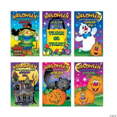 Halloween Activity Pads