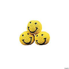 Knitted Smile Face Kick Balls