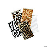 Plush Animal Print Spiral Notepads
