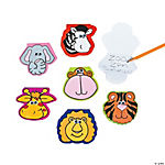 Zoo Animal-Shaped Notepads With Wiggle Eyes