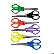 Plastic And Metal School Scissors