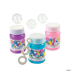 Mini Easter Bubble Bottles