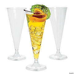 Clear Champagne Flutes