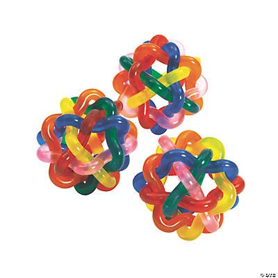 Colorful Intertwined Balls