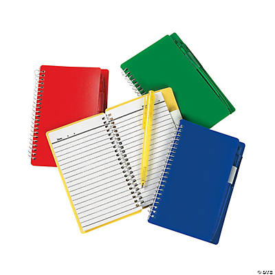 Spiral Notebook & Pen Sets