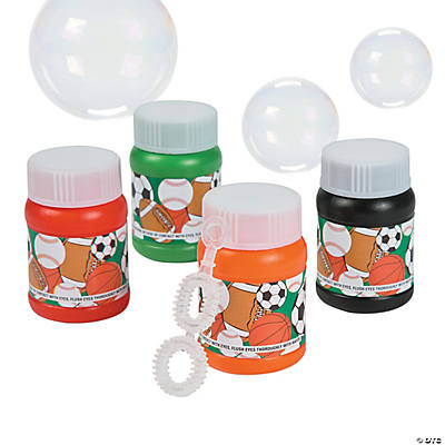 Mini Sport Ball Bubble Bottles