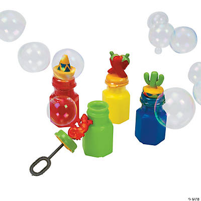 Fiesta Character Bubble Bottles