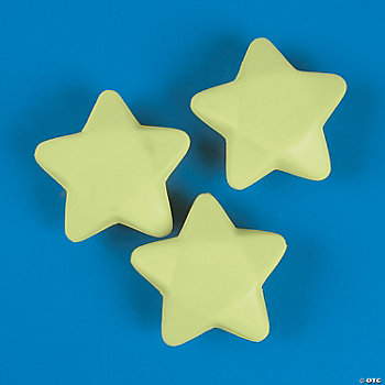 Glow-In-The-Dark Relaxable Stars