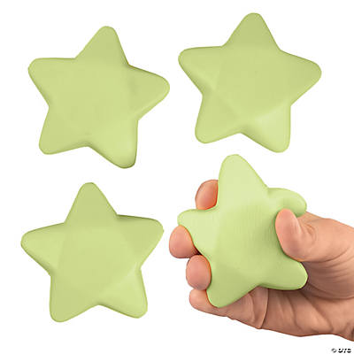 Glow-in-the-Dark Stress Toy Stars