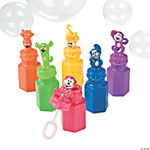 Neon Monkey Bubble Bottles
