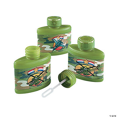 Camouflage Bubble Bottles