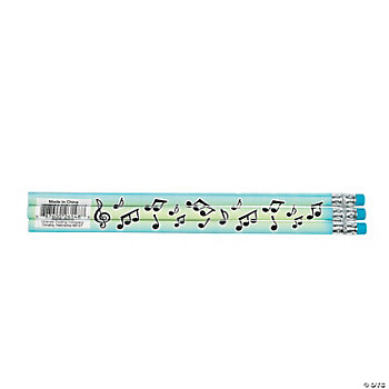 Musical Notes Pencils