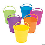 Plastic Mini Bright Easter Pails