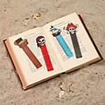 Vinyl Pirate Ruler Bookmarks