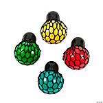 Vinyl Mesh-Covered Color-Changing Mini Stress Balls