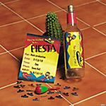 """Fiesta"" Invitations in A Bottle"