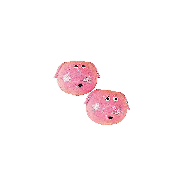 Pig Splat Balls Oriental Trading