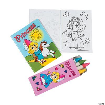 Mini Princess Coloring Sets