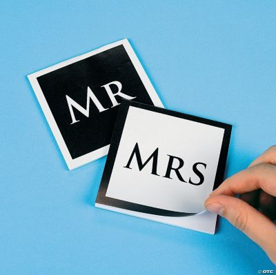 """Mr & Mrs"" Notepads"