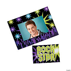 """Rock Star"" Magnet Picture Frames"