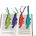 Spring Alligator-Shaped Bookmarks