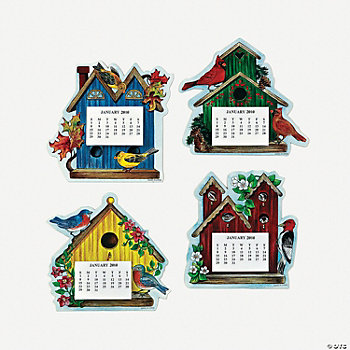 2010 Magnetic Birdhouse Calendars