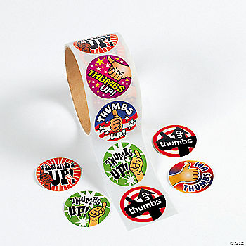 Thumbs Up Stickers Oriental Trading Discontinued