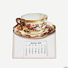2010 Teacups Magnetic Calendars