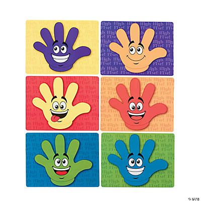 """High Five"" Reward Cards"