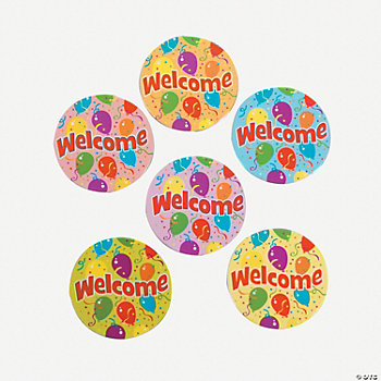 """Welcome"" Magnets"