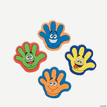 """High Five"" Magnets"
