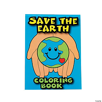 """Save The Earth"" Coloring Books"