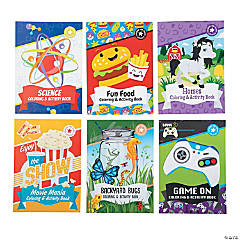 Large Activity Pad Assortment