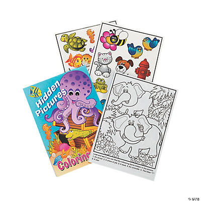 Picture Find Activity Books