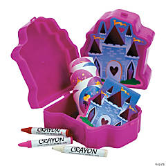 Castle Filled Stationery Sets