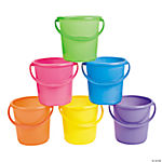 Plastic Sand Bucket Assortment