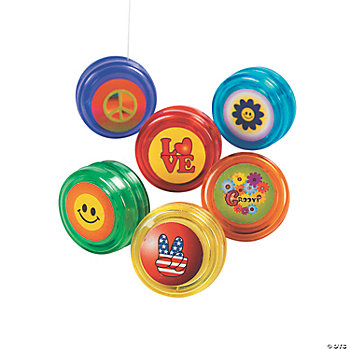 Plastic '60s Designs Mini Yo-Yos