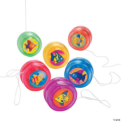Tropical Fish Mini Yo-Yos