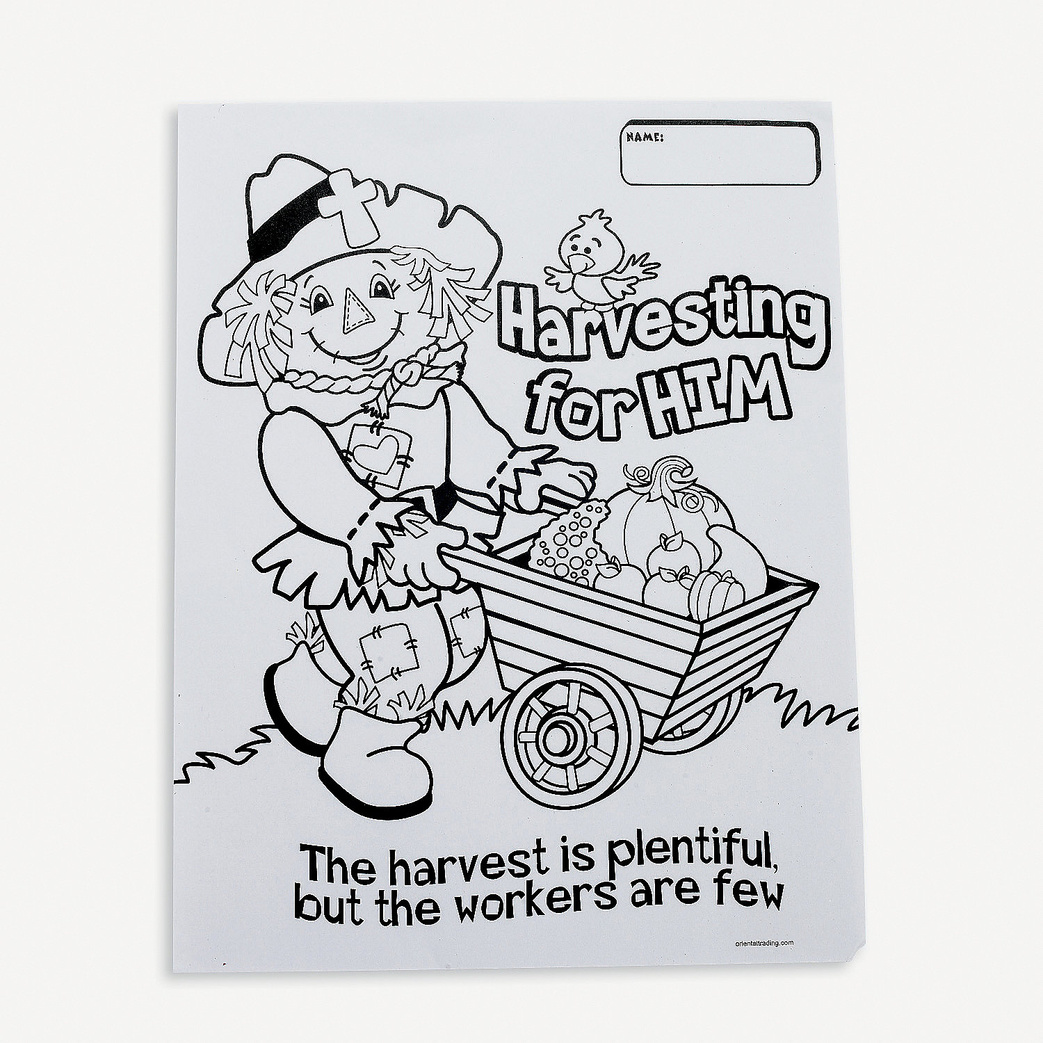 Fall Inspirations Harvest Coloring Contest Sheets