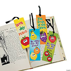 Fruit Bookmarks With Stickers