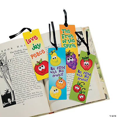 Fruit of the Spirit Bookmarks with Stickers