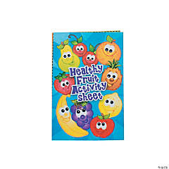 Fruit Fold Up Activity Book