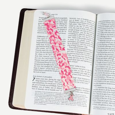 Pink Ribbon Camouflage Bookmarks