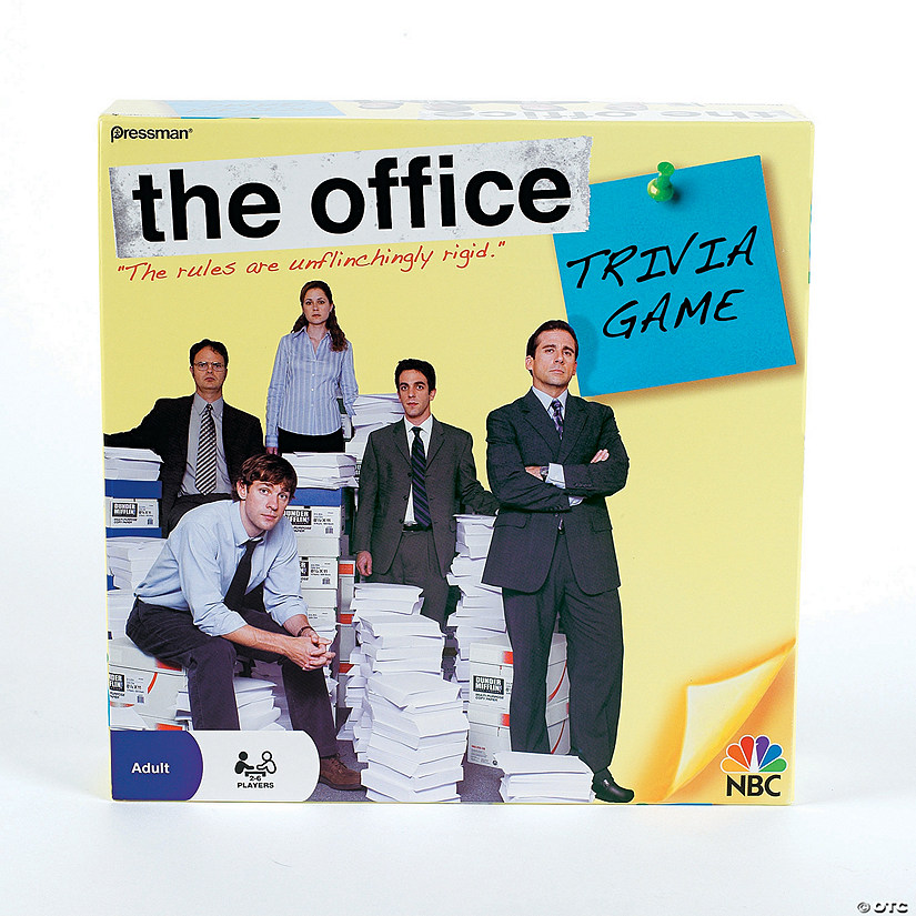 pressman the office trivia game