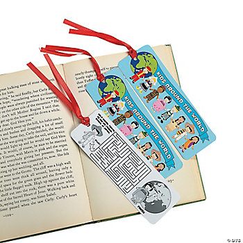 Multicultural Bookmarks With Activities