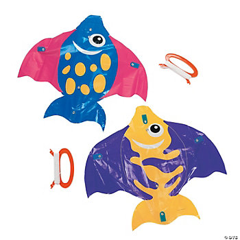 Plastic Tropical Fish Kites