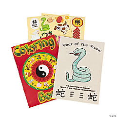 24 Chinese New Year Activity Books With Stickers