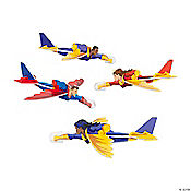 Superhero-Shaped Gliders