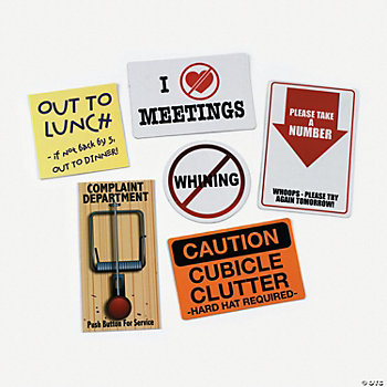 Funny Office Magnets